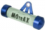 MOTRAX MOTORCYCLE Cylinder Tax Disc Holder [BLUE]